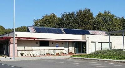 Ampliación de instalación solar térmica para apoio de producción de ACS e calefacción en centro de día e residencia comunitaria