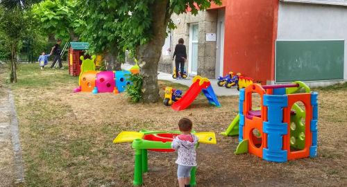 Programa BenOurense infancia no Concello de Vilar de Santos