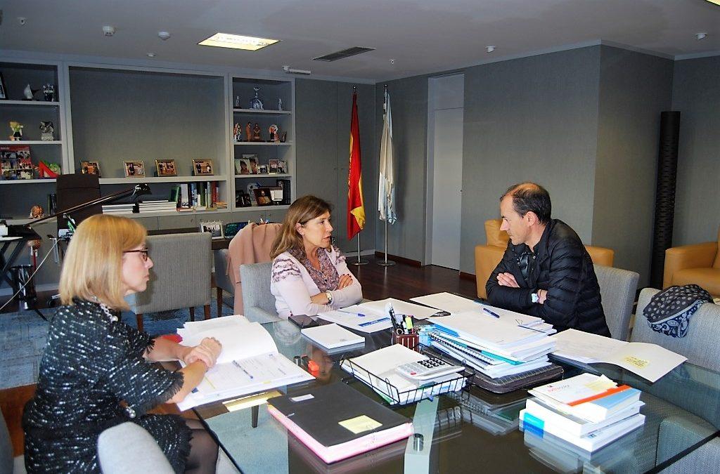 O Alcalde de Vilar de Santos reúnese coa conselleira de Medio Ambiente e Ordenación do Territorio