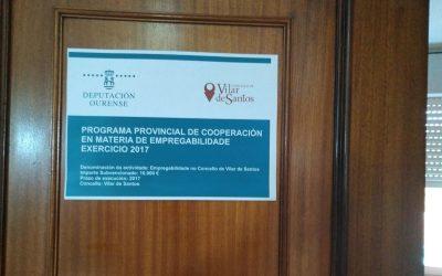 Programa Provincial de cooperación en materia de empregabilidade 2017