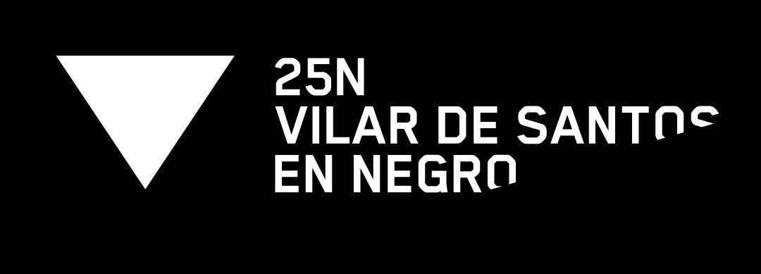 "Vilar de Santos participa na campaña ""En negro contra as violencias"""