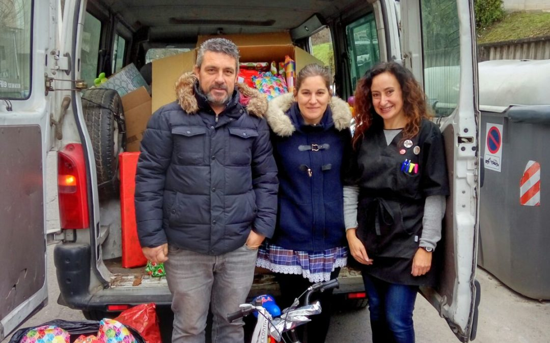 Éxito de colaboración e solidariedade na campaña de recollida de xoguetes do Concello