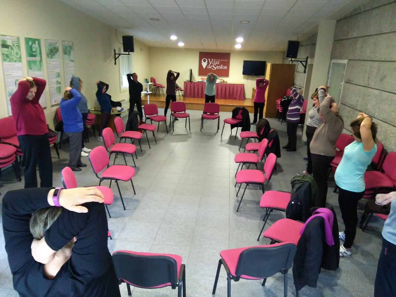 Vilar de Santos inicia as actividades do programa de envellecemento activo 2018