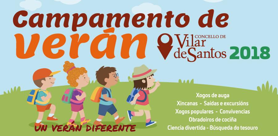 Campamento de verán 2018 en Vilar de Santos