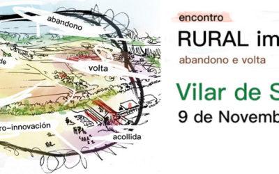 Aberta a participación do Encontro Rural Imaxinado que terá lugar en Vilar de Santos