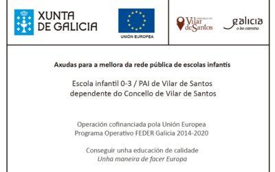 Mellora das Infraestructuras e do equipamento do PAI de Vilar de Santos