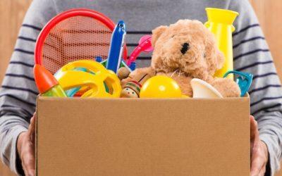 Campaña de recollida de Xoguetes en Vilar de Santos