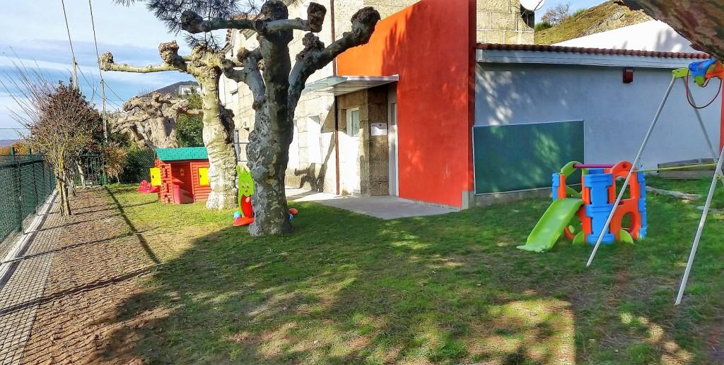 Melloras na escola infantil de Vilar de Santos