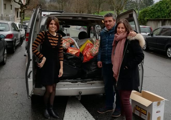 Un ano máis, éxito de colaboración e solidariedade na campaña de recollida de xoguetes do Concello