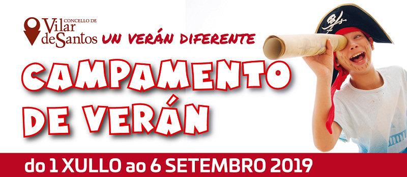 Vilar de Santos organiza un campamento de verán en xullo, agosto e setembro