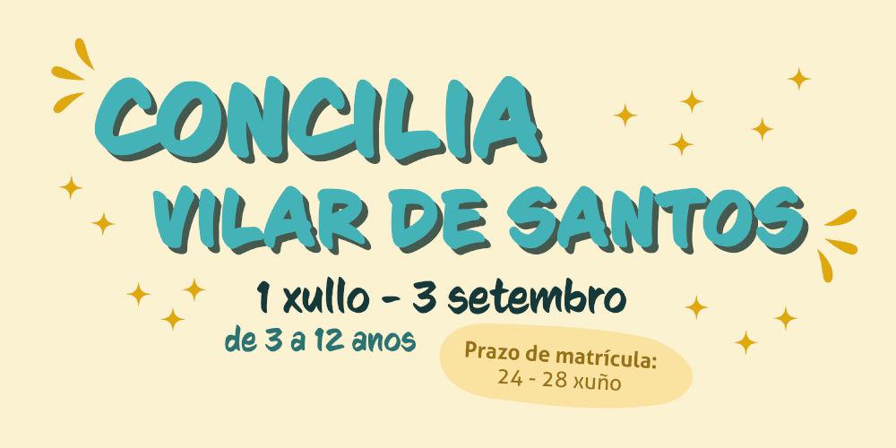 Relación de admitidos e lista de agarda do Concilia Vilar de Santos