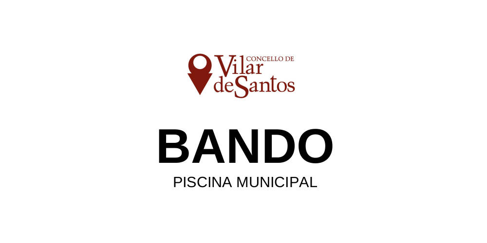 Bando. Piscina municipal.