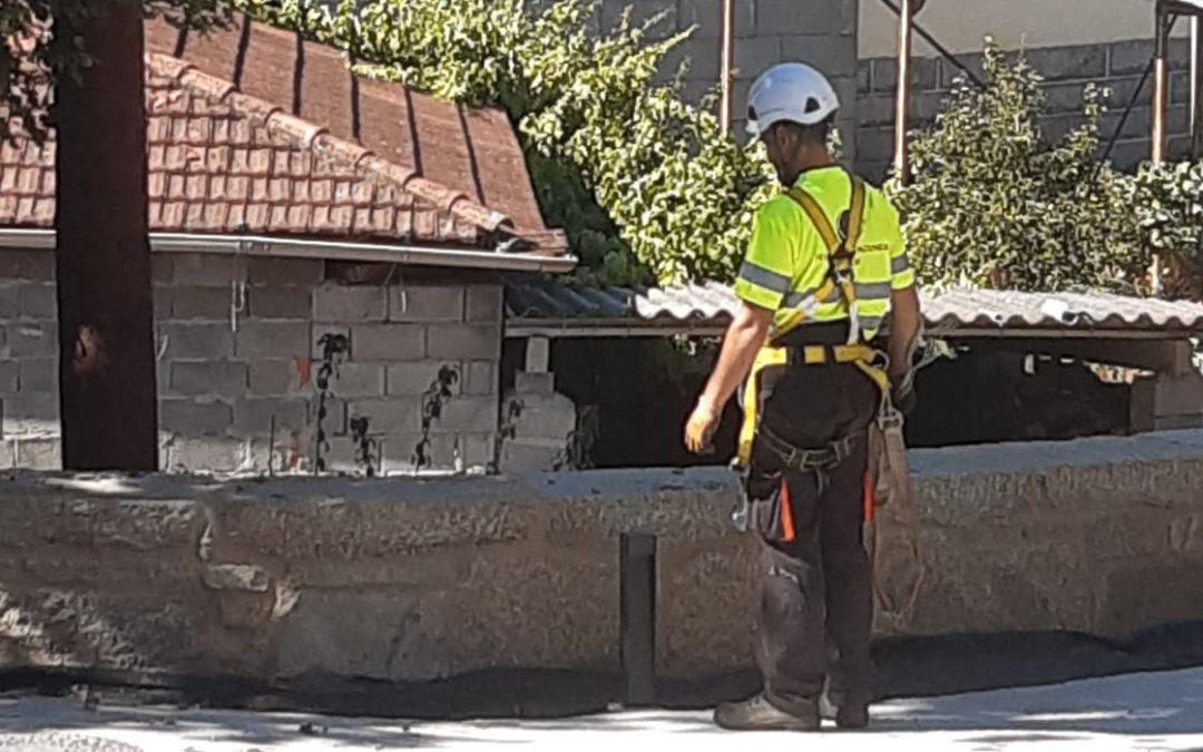 Despregamento fibra óptica no concello